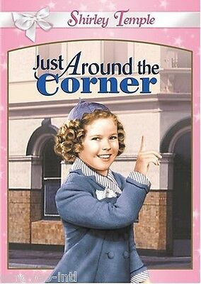 Just Around The Corner (Shirley Temple) - Pink Case & Color/B&W *New Dvd*