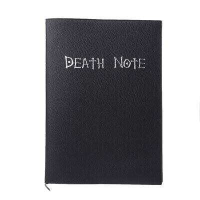 Collectable Anime Cosplay Death Note Notebook & Feather Pen Book Writing Journal