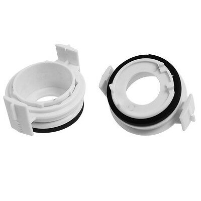 Car H7 HID Xenon Light Bulb Holder Adapter RetaIner 2 pcs For BMW E46 New