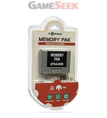 Tomee 256Kb Memory Card For N64 - Brand New Free Delivery