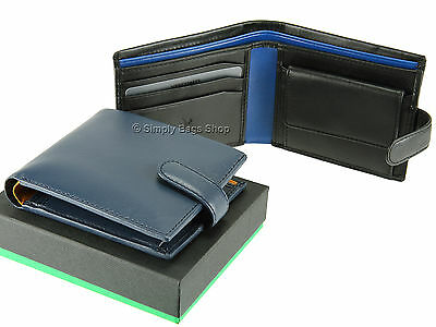 Visconti Massa Soft Supple Leather Wallet Fraud Prevention RFID Gift Boxed