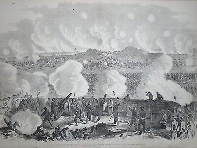 1864 Leslie's Weekly August 20 - Ninth Corps charges