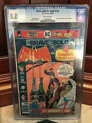 Brave And The Bold #130 Cgc 8.0 Vf Green Arrow Story (C1) (Id 4085)