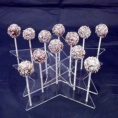 Star Cake Pop Stand - Clear