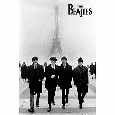 Poster The Beatles In Paris