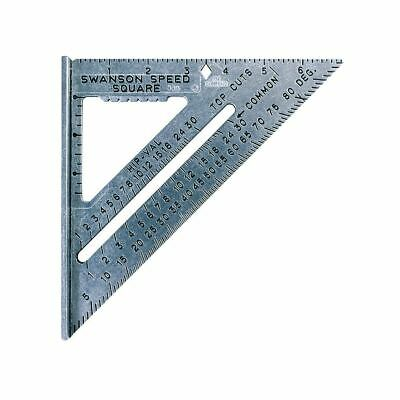 """Swanson S0101 7"""" Imperial Speed Square with Instruction Book"""