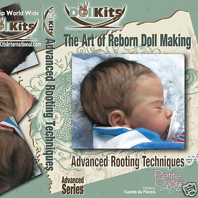 The Art of Reborn Doll Making Advanced Rooting Techniques Series 2