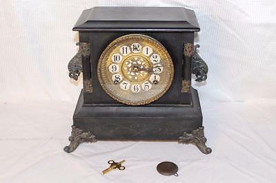 Antique Gilbert 8 Day Mantle Clock In Running Condition ~1904~