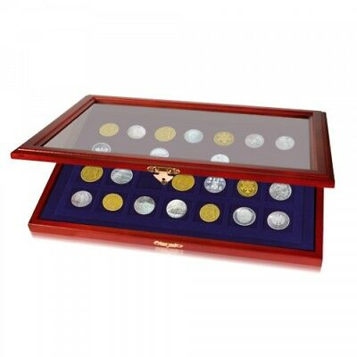 Coin Display Case for Quarters In Capsules