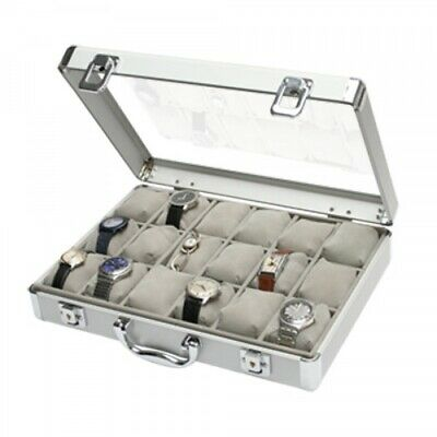 Aluminum Watch Collecting Case - Large