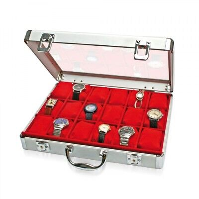 Large Aluminum Watch Collecting Case