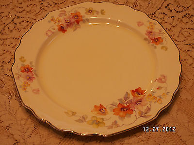 6 VINTAGE W.S. GEORGE LIDO DINNER PLATE 482A CANARYTONE