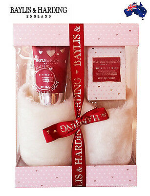 Baylis & Harding WOMENS MOTHERS DAY LUXURY GIFT PACK/SLIPPERS/FOOT SOAK & LOTION