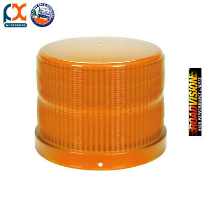 Roadvision RL165A Replacement Lens Amber For RB165 Series Beacons
