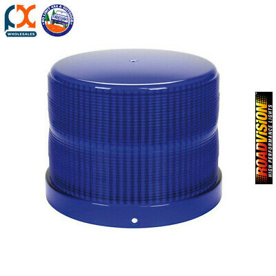 Roadvision RL165B Replacement Lens Blue For RB165 Series Beacons