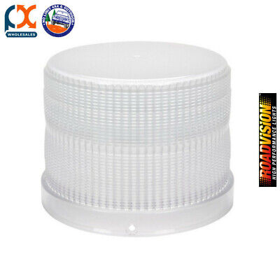 Roadvision RL165C Replacement Lens Clear For RB165 Series Beacons