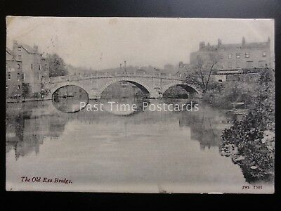 Devon EXETER The Old Exe Bridge c1904 by J. Welch & Sons - Old Postcard