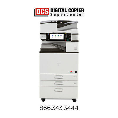 Ricoh Aficio MP 5054 Color Copier Printer Scanner