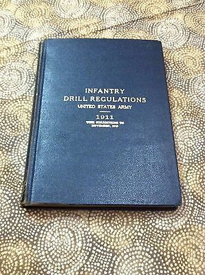 1911 U.S. Army Militaria- Infantry Drill Regulations