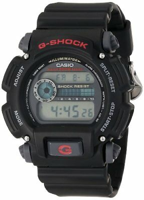 Casio DW90521VCFB Mens DW9052-1V G-Shock Black Stainless Steel & Resin DigiWatch