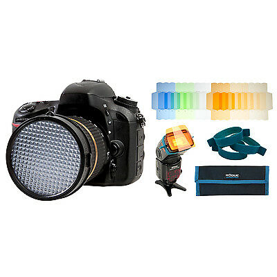 ExpoDisc 2.0 - 82mm (Expo Disc) + Rogue Flash Gels - Color Correction Kit