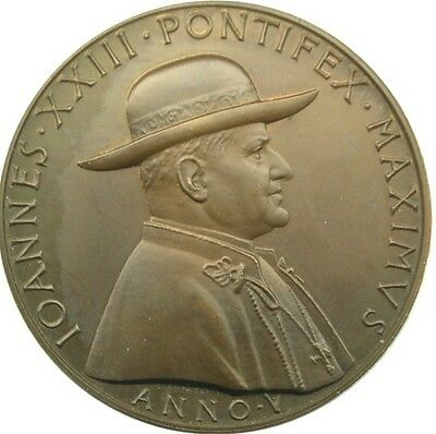 MEDAL - Pope John XXIII - Year IV of Pontificate 1962 - CITY 'OF THE VATICAN - c