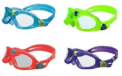 SEAL KID 2 Learn to Swim Snorkel Vacation Goggles AQUA SPHERE Mask Scuba Pool