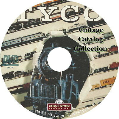 Tyco Catalog Collection {Antique Toys, Trains and Race Cars} on DVD