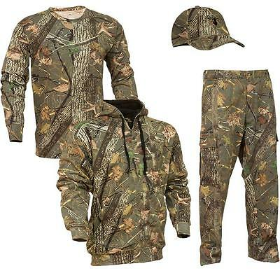 4 pc Kings Camo Woodland Classic Bundle Pants Hoodie Shirt Hat Lot All Sizes