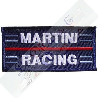 Martini Racing Embroidered Cloth Emblem Badge Patch