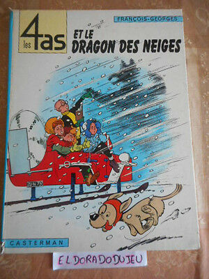 Eldoradodujeu > Bd - Les 4 As Et Le Dragon Des Neiges - Casterman Eo 1968