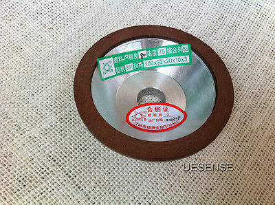 New 100 Diamond Grinding Wheel Cup Grit 80 Cutter Grinder