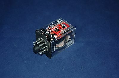 One  New Plug In Relay 11Pin 3P Fits Mk-3Pns 120V Ac Coil