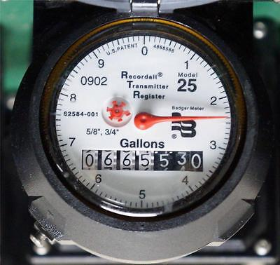 One Badger Recordall Water Meter Model 25 With Housing ! 22 Available