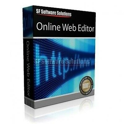 Online Web Website Page Creation/Authoring Software on CD Web Development