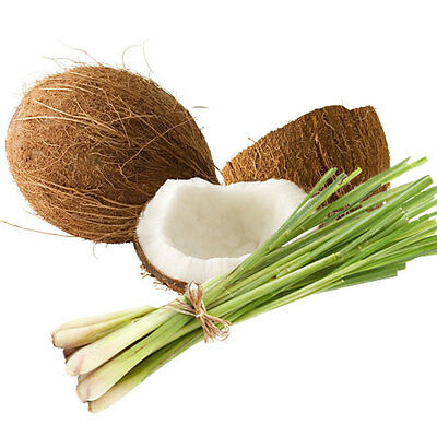 Coconut & lemongrass x 30 ml fragrance oil for candles melts soap burners