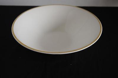 ARKLOW LARGE SERVING BOWL WHITE WITH GOLD BAND MATCHES THOMAS MEDALLION