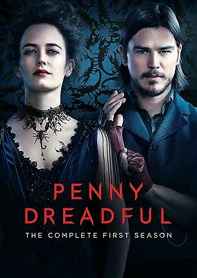 Penny Dreadful: The Complete First Season 1, (DVD, 2014, 3-Disc Set)