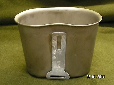 ORIGINAL WW2 US ARMY USMC AIRBORNE CANTEEN CUP 1945