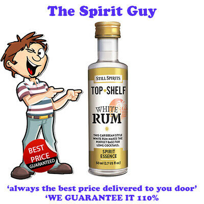 WHITE RUM SPIRIT ESSENCE - TOP SHELF @ $6.49 each By Still Spirits - 30106