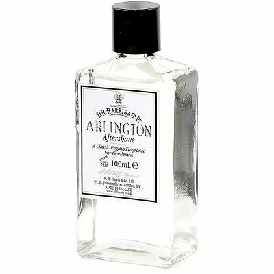 DR Harris & Co 100ml Arlington Aftershave Lotion in Glass Bottle