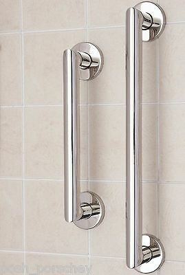 Stainless Steel Disability Grab Rail Support Handle Bar Bathroom Safety Non Rust