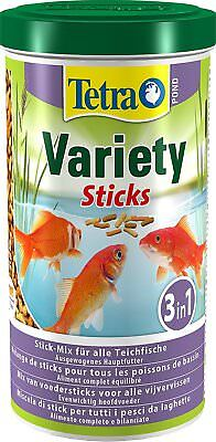 Tetra Pond Variety Fish Sticks 1000ml /150g - Posted Today if Paid Before 1pm