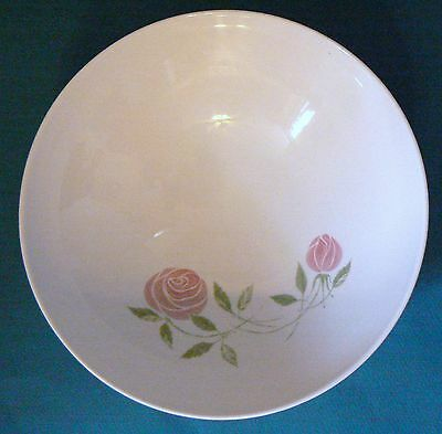 """FRANCISCAN """"Whitestone Wear"""" PINK A DILLY 8-1/4 inch serving bowl"""