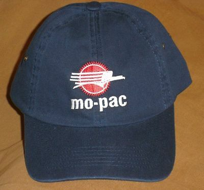 Dark Blue Mopac Eagle Ball Cap with Embroidered logo from the MPHS