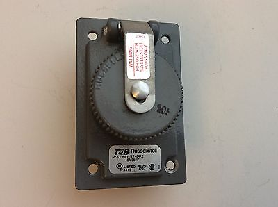 T&B Russellstoll 3743U2 Receptacle Cover