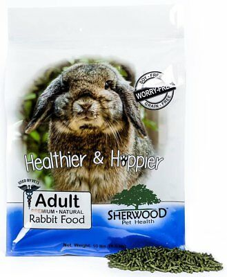 Rabbit Food, Sherwood Adult- Timothy blend (Grain/Soy-Free) - 10 lb.(Vets Use)