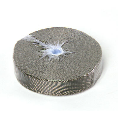 "Titanium Exhaust/Header Heat Wrap, 1"" x 50' Roll With Stainless Ties Kit"