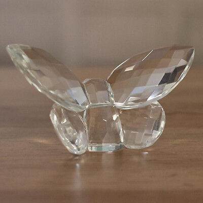 Crystal Butterfly Ornament 7.5cms. Crystal Gift in Box - Small Size. BRAND NEW.