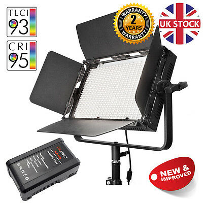 Daylight LED Video Lighting Dimmable Location Light Interview 5500K Professional
